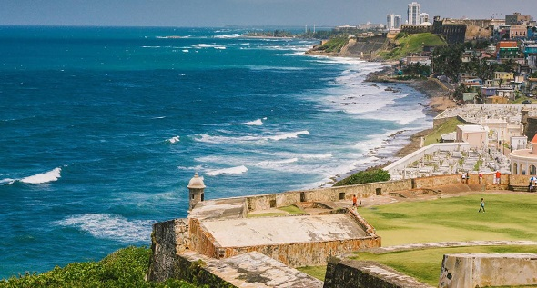 Paysage de Porto Rico